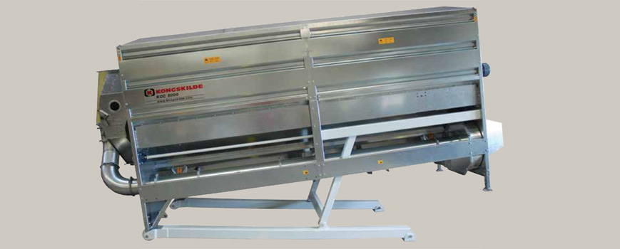 Kongskilde Rotary Dual Cleaner grain cleaning equipment from